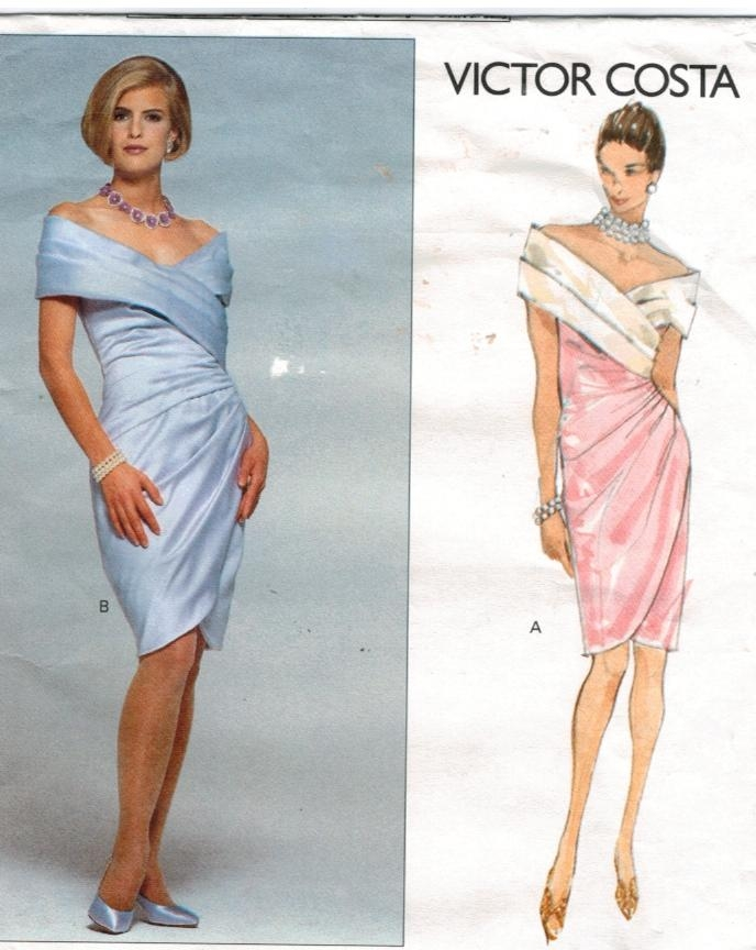 Vogue Pattern 2688 Victor Costa Designer evening gown Size 16 ...