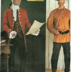 Men and Teen's 18th Century Colonial Costume