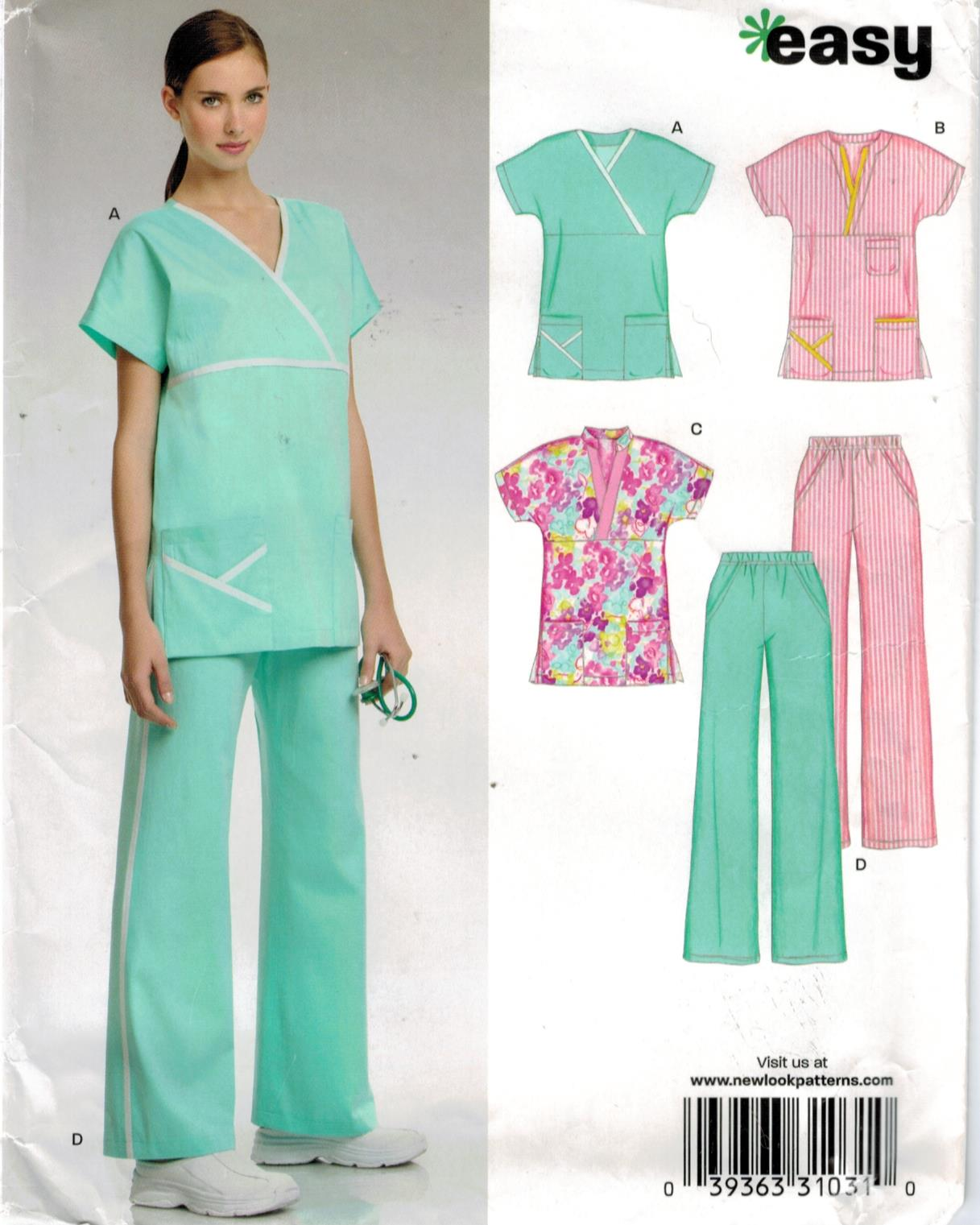 Nursing Uniform Pattern 114