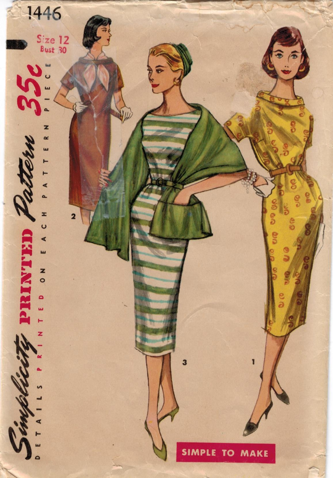 Vintage Dresses Patterns