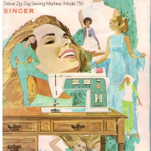 Instruction manual for your Singer Touch & Sew machine!