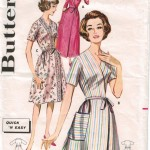 Easy wrap robes and housecoat