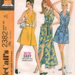 Very easy wrap dress perfect for warm weather