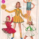 Great vintage costume pattern from 1968!