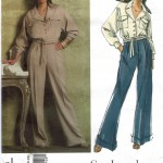 Two piece outfit with high fashion jumpsuit look