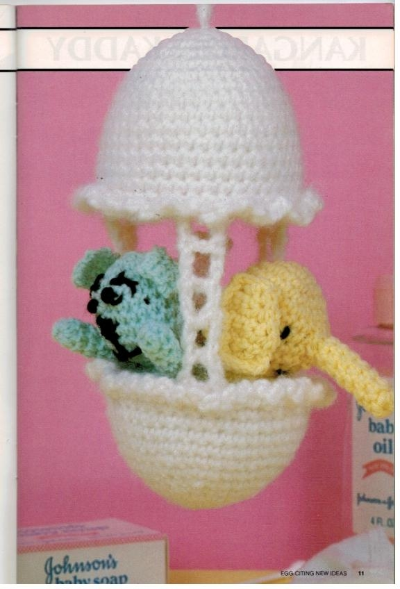 Annies Attic Crochet Toys and Accessories Crocheted Sewing Pattern ...