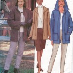 Easy zipped hooded jacket with skirt and pants!