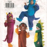 Dinos, monsters and ghouls for kids size 5 - 6X