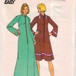 Easy to sew and easy to wear lounging robes