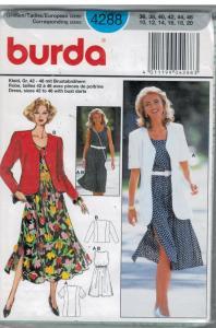 Soft dress with jackets in two lengths