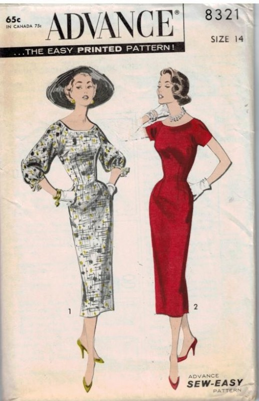Sewing Pattern Heaven Vintage And Modern Sewing Patterns Fabric