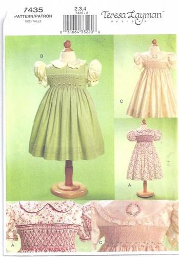 Vogue Pattern 60 Smocking Smocked Dresses Teresa Layman Sewing Interesting Smocking Patterns