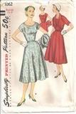 Vintage Sewing Patterns Simplicity