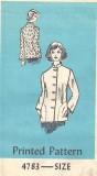 Parade Pattern Mail Order pattern - mandarin collar jacket
