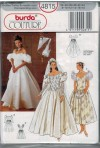 Couture Gown with sleeve variations