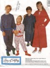 Classic pajamas and robe for kids from designer Lanz of Salzburg