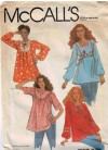 Easy fit tunic tops with neckline variations