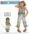 Cute capri pants and top for girls plus matching 18 inch doll clothing!