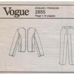 Vogue 2855-2