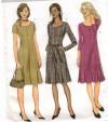 Princess seams and cute hem pleats make this a standout dress