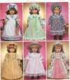 """18"""" doll historical costumes"""