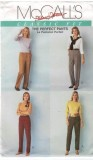 The Perfect Pants just for you. Classic fit instructions by designers Palmer and Pletsch.