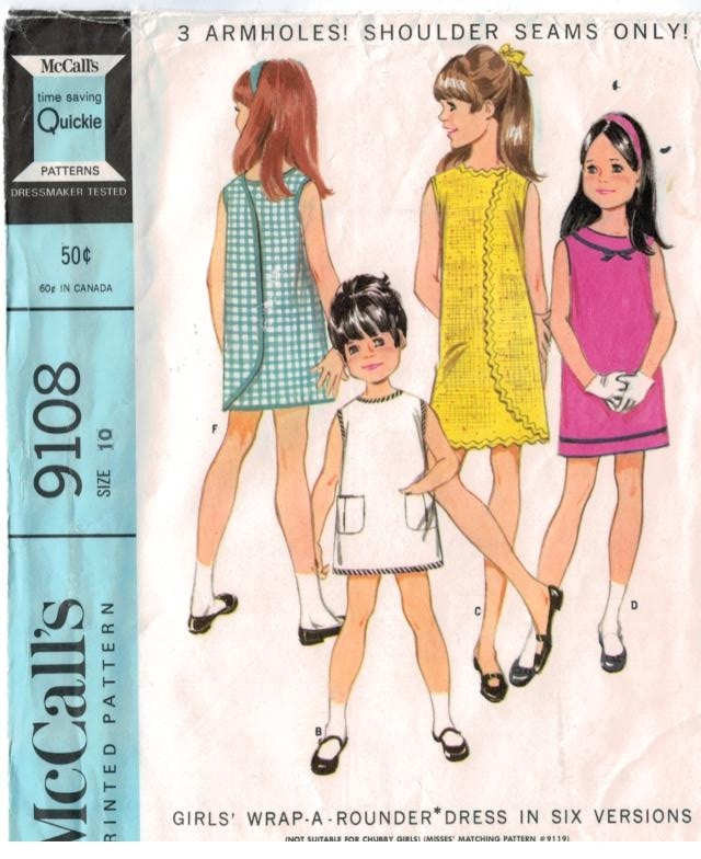 Vintage Sewing Patterns and Sizing-important details