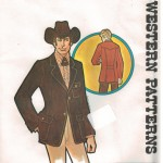 Handsome fitted men's Western Jacket!