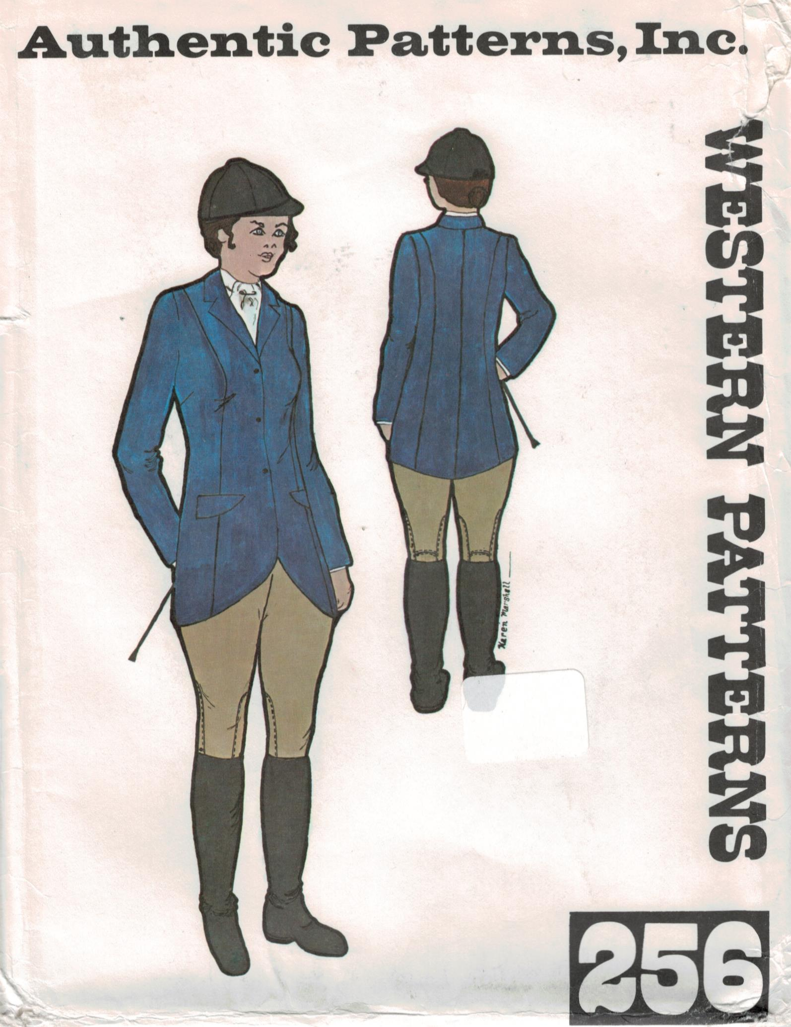 Riding hunt coat and breeches authentic pattern 256 jodpher riding hunt coat and breeches authentic pattern 256 jodpher english jeuxipadfo Image collections