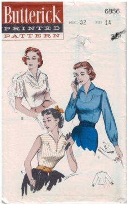 Vintage Patterns Butterick
