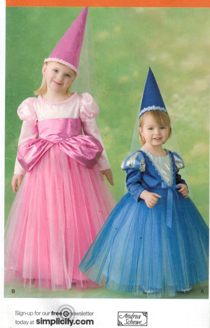 Simplicity Pattern 2569 Toddler and Girls Pagent and Princess ...
