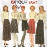 Easy 2 hour skirt pattern!