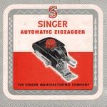 Singer buttonholer 1