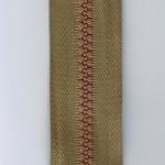 """20"""" heavy duty separating tan zipper"""