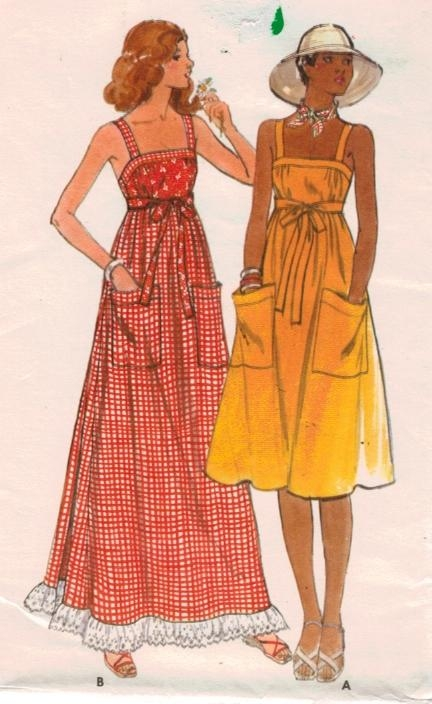 Warm Weather Sewing fun-Vintage Patterns, Modern and more