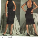 Vogue Paris Original by Guy Laroche. Lovely evening dress.