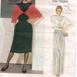 Color blocked dresses by Christian Dior!