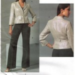 Anne Klein suit with belted jacket and pants
