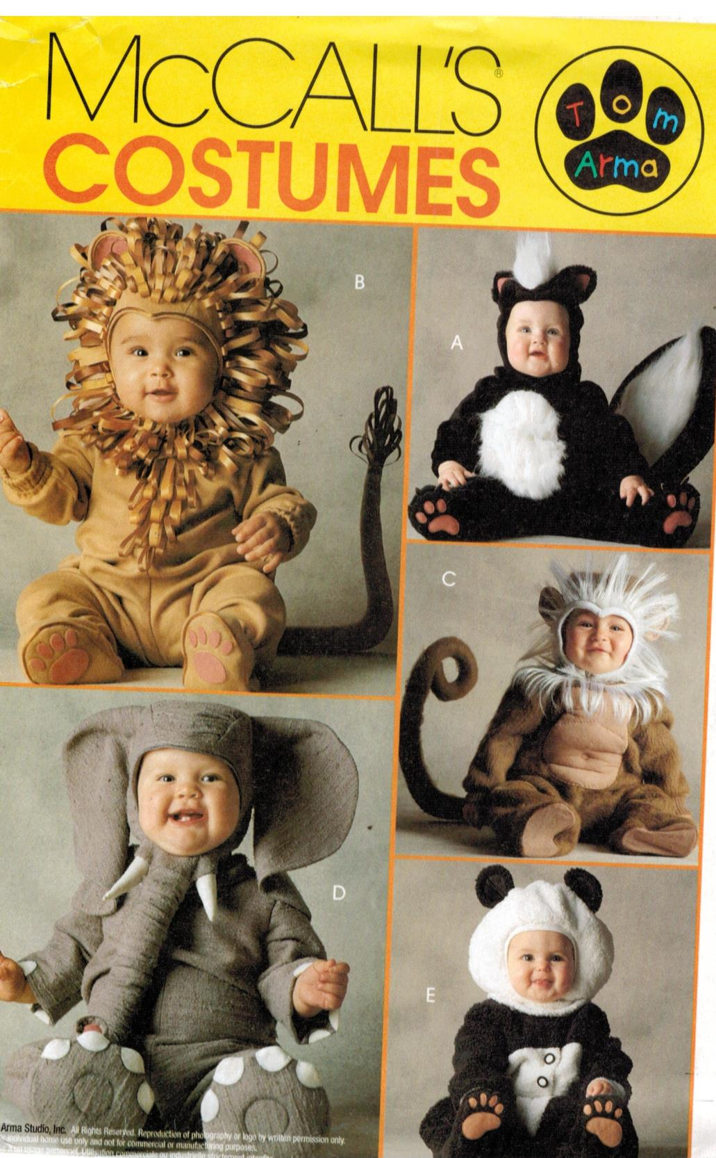 Baby Costume Patterns Unique Ideas