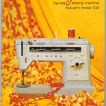 Original manual for Singer Stylist sewing machine