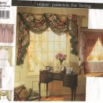 Beautiful window treatments in one pattern package!