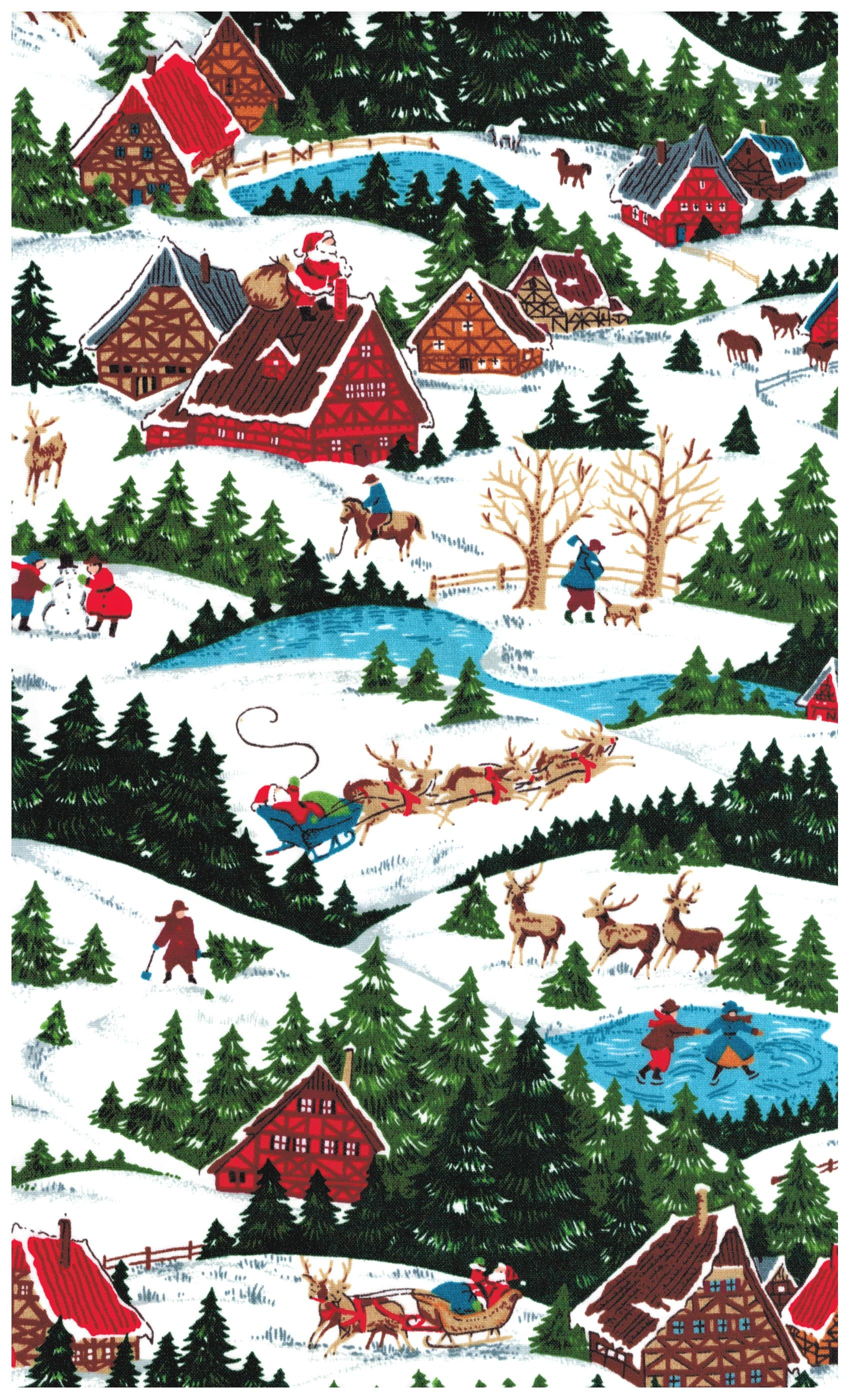 Buy fabric for Christmas sewing and craft projects online at JOANN! Browse a variety of festive Christmas fabric designs, colors and styles!