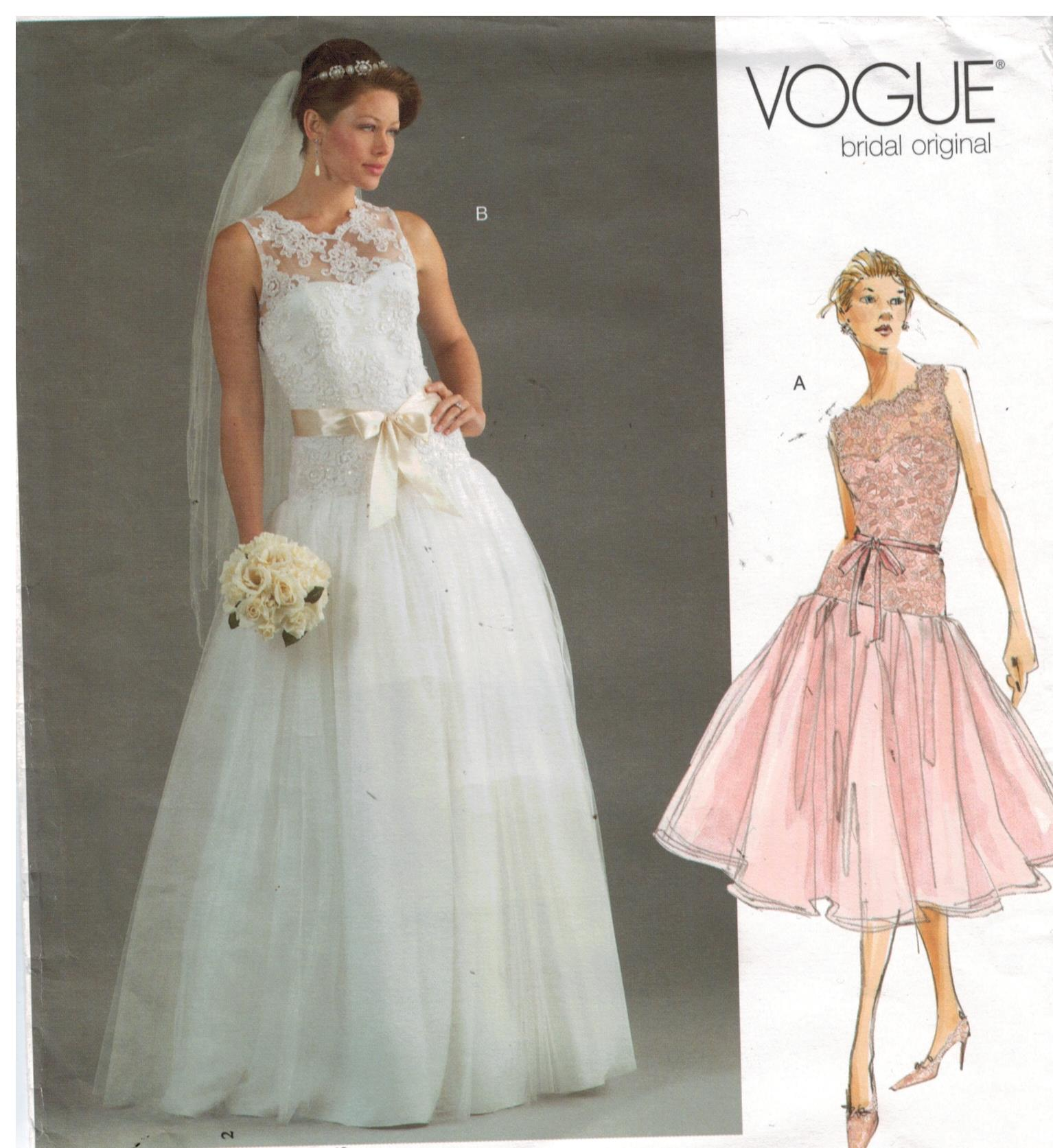 Vogue Pattern 2892 Bridal