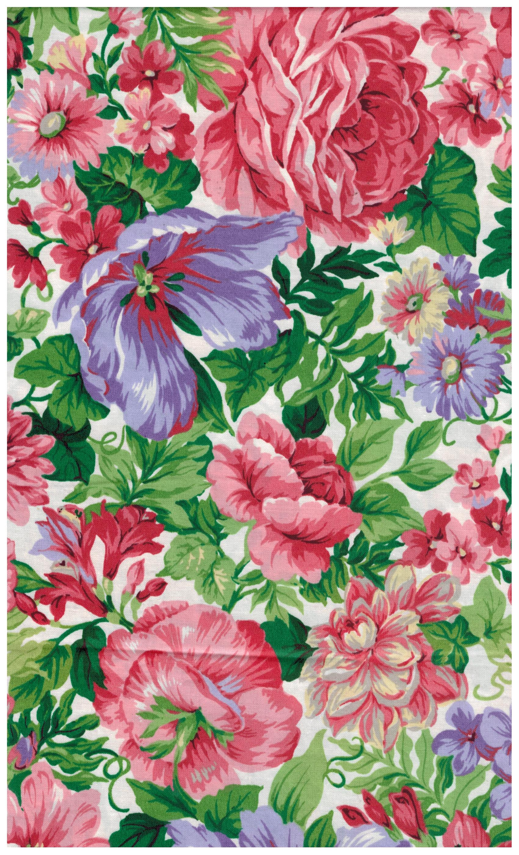 Vip Fabrics Polished Cotton Floral Print Cranston