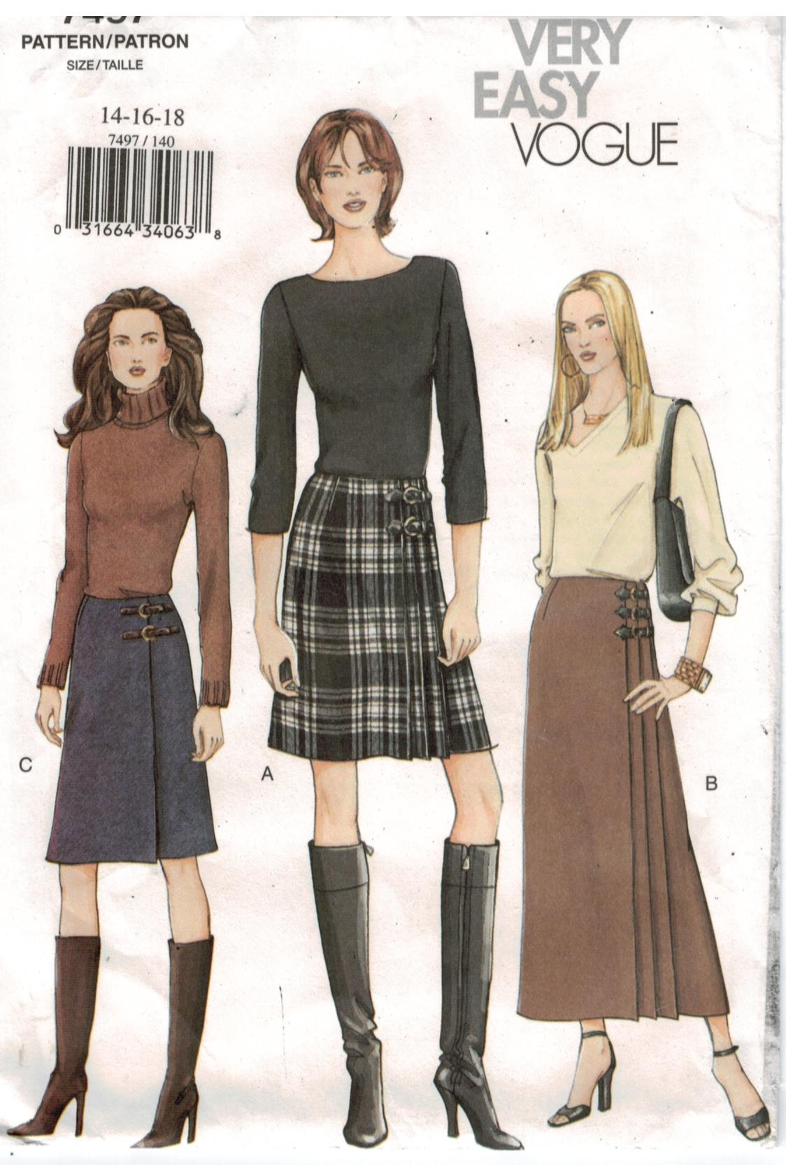 Kilt Sewing Pattern Interesting Design