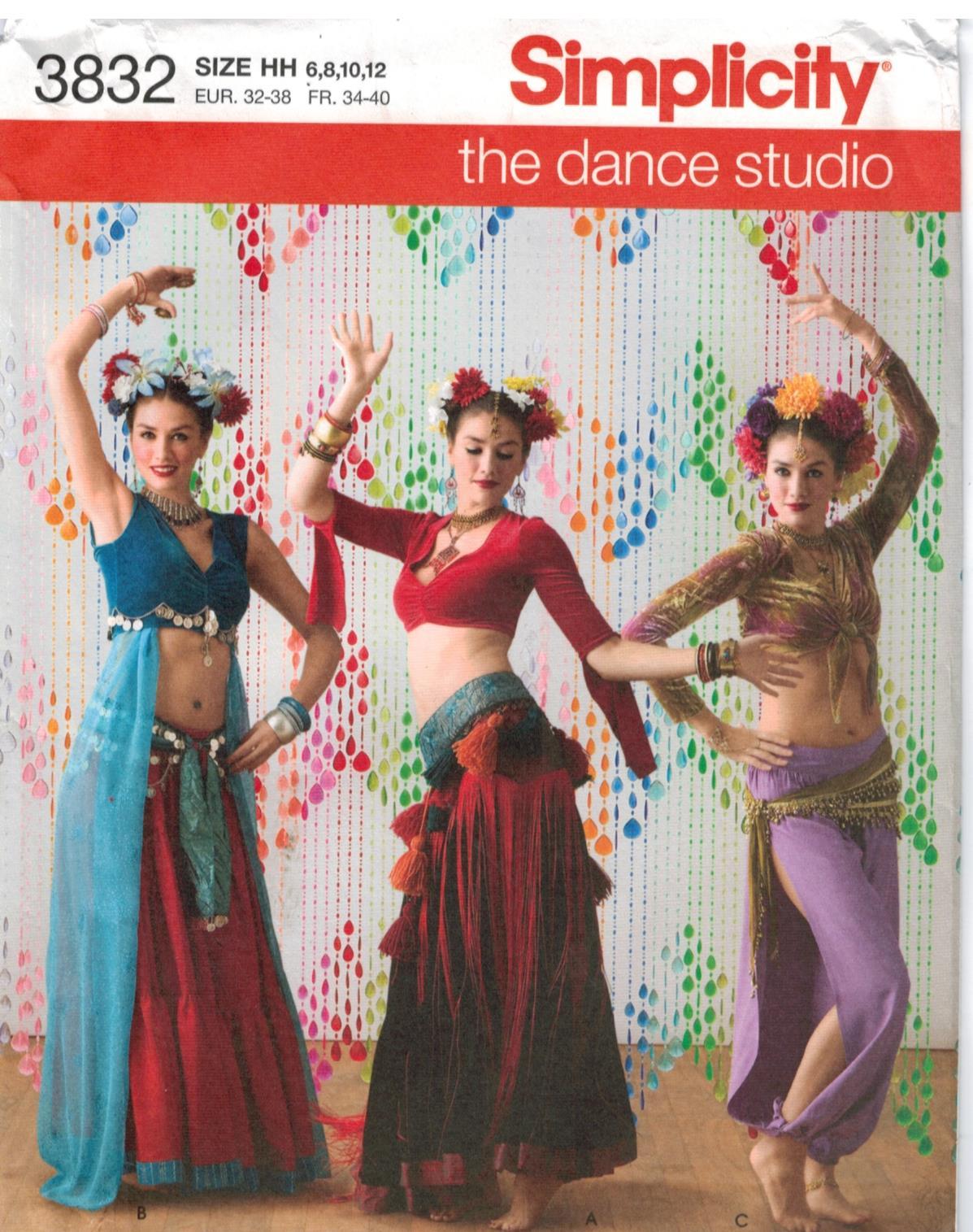 Dance Costume Patterns New Design