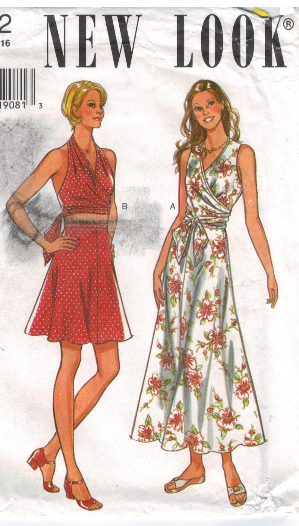new look patterns sewing pattern heaven