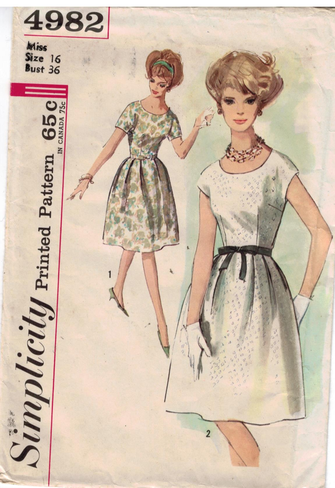 Vintage Sewing Patterns Simplicity | Sewing Pattern Heaven - Part 2