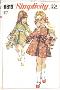 Rag doll and toddler dresses